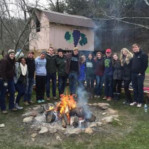 Pepsi Scholars at Spring Leadership Retreat