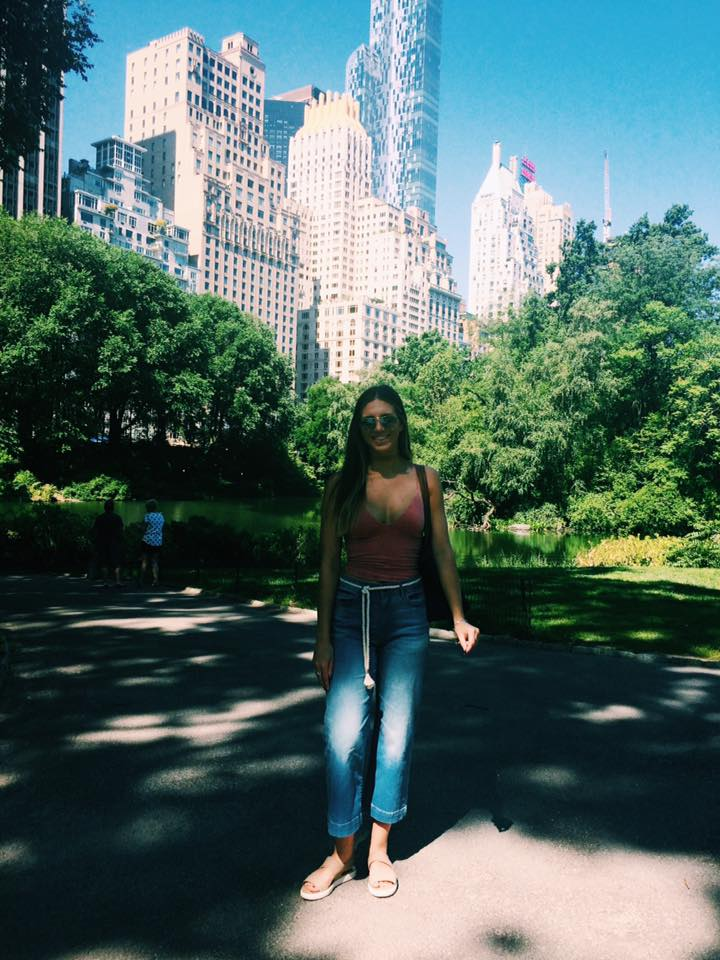 natalie chatterton interns at the madison square garden company in nyc the blank space - Madison Square Garden Internship